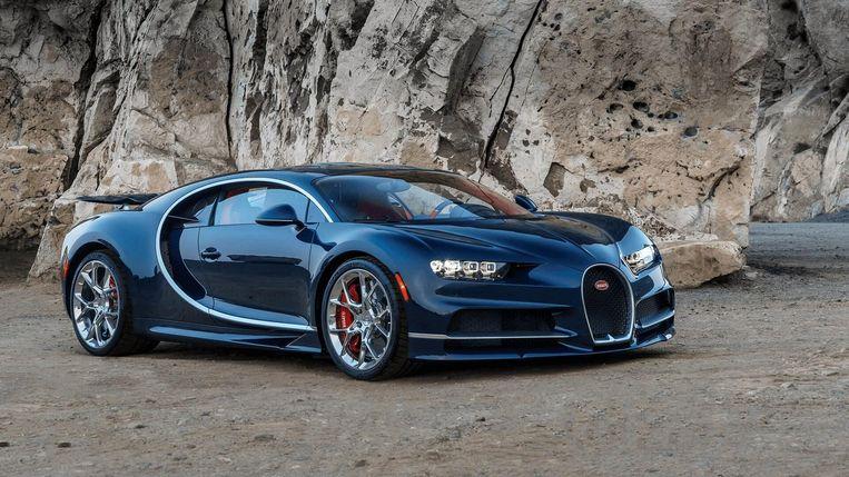 ► De Chiron van Bugatti. Beeld rv