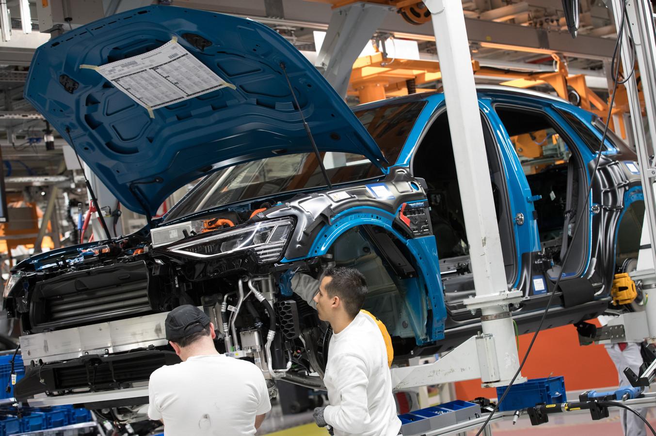 Archiefbeeld uit de Audi-fabriek in Vorst (Brussel).