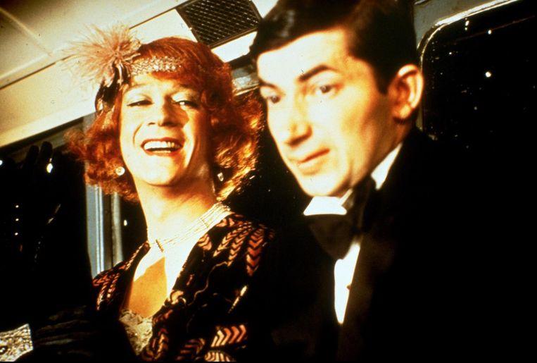 John Hurt in The Naked Civil Servant. Beeld ANP