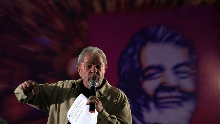 De Braziliaanse ex-president Lula da Silva. Beeld REUTERS
