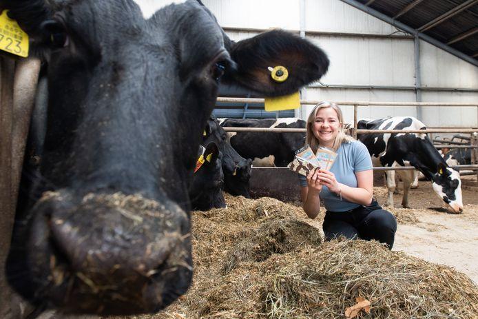 Yvonne van Oosterhout heeft chocoladerepen van koeien uit de eigen boerderij gemaakt, om zo haar vader financieel te ondersteunen. Zo hoopt ze de lage prijs die hij voor de melk krijgt te compenseren.