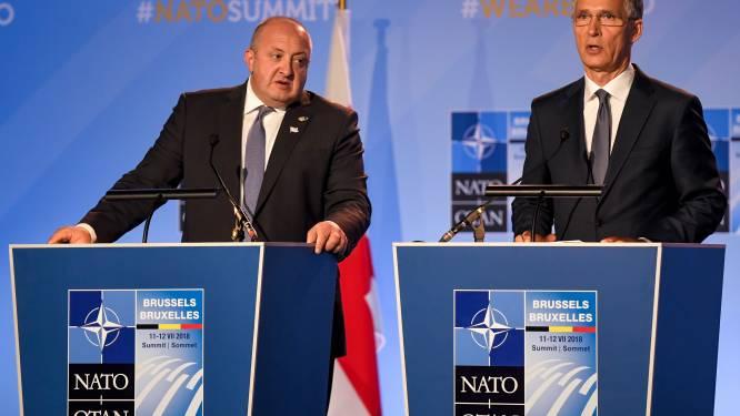 """Stoltenberg: """"Georgië zal lid worden van de NAVO"""""""