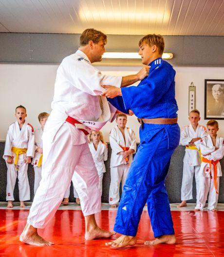 Judoschool Yoshi Kai blij met clinic Dennis van der Geest: 'Groot teken van leven na zware tijd'