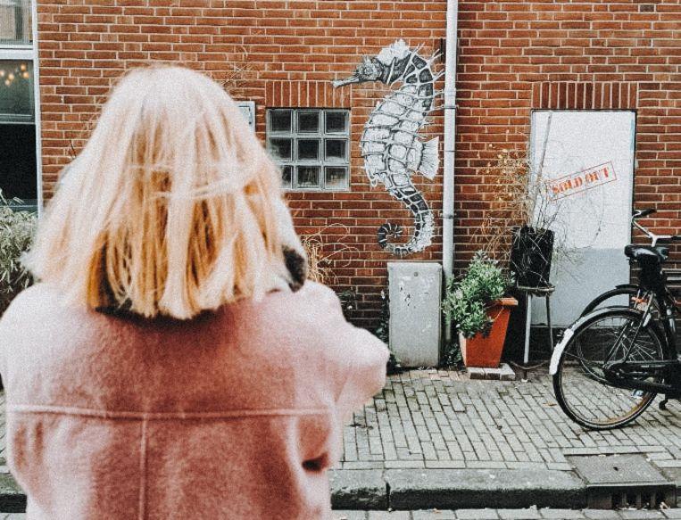 Street Art speurtocht in Oud-West. Beeld