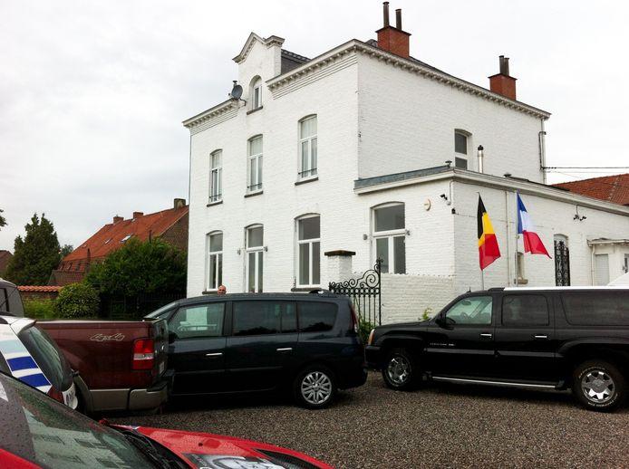 La maison de Gérard Dépardieu à Néchin