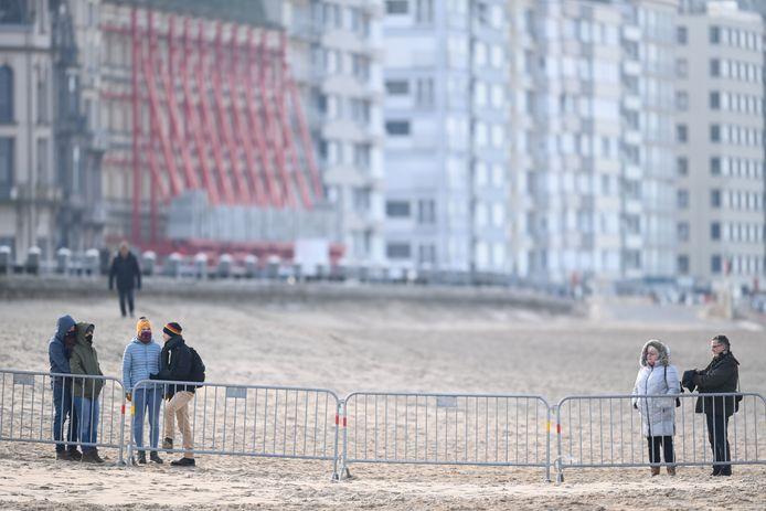 Het WK veldrijden gaat deels over het strand in Oostende.