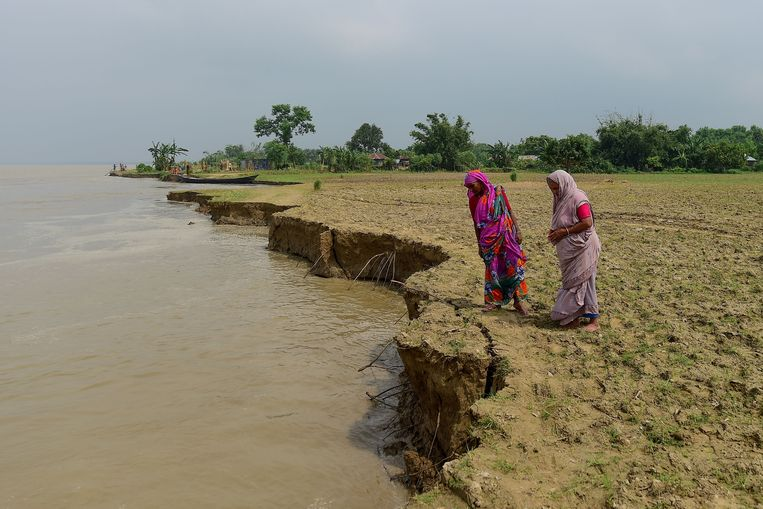 De armste landen betalen de zwaarste prijs voor klimaatverandering.  Beeld AFP