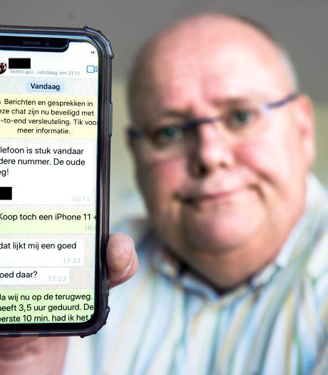 Bas (62) kreeg een appje van zijn 'zoon' en maakte 7700 euro over: 'Hoe heb ik er zó kunnen intuinen?'