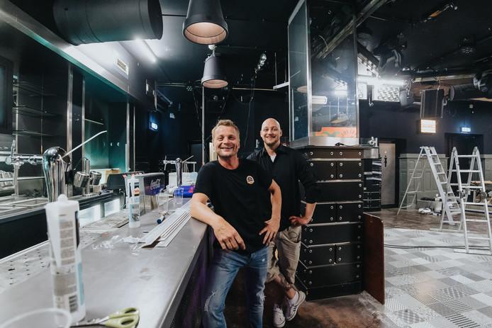 Nog even verbouwen, want op 31 augustus starten Dennis van Vijfeijken en Pieter van Hoogdalem met De Kerk, op de plek waar vroeger discotheek BomaX was gevestigd.