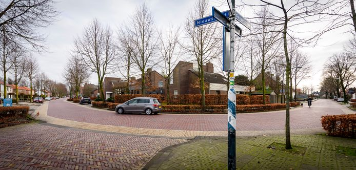 De gemeente Bladel is een herinrichting aan het uitwerken voor de Ganzestraat en de Nieuwstraat  (op foto links Nieuwstraat en rechts Ganzestraat)