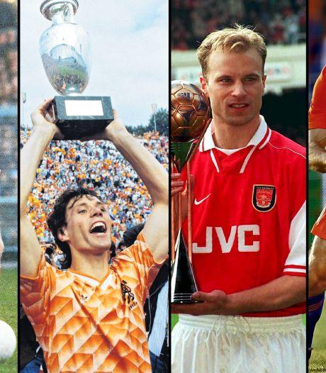 Ballon d'Or Dream Team: Cruijff, Van Basten, Bergkamp en Robben ook genomineerd