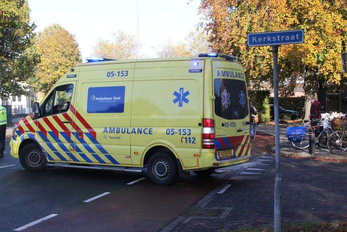 Fietsster in Nijverdal aangereden
