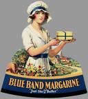 Een oude Blue Band reclame