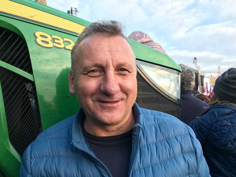 'Babiš is een zeer capabele dief', zegt boer Jan Miller (56). Beeld