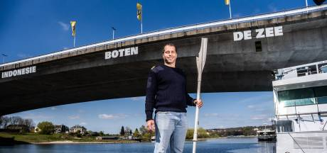 Stuurman Marko redde drenkeling in de Rijn bij Arnhem: 'Ik heb mijn armen om zijn buik geslagen'