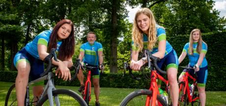 Kinderen uit instelling Eefde werpen op Mont Ventoux al fietsend een rugzakje af: 'Ik huilde voor het eerst in jaren'
