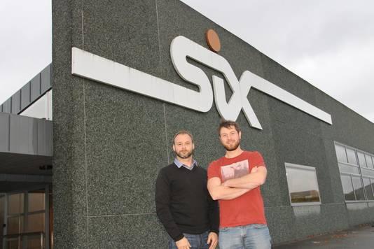 Tom Ghiesmans en Willem Beke van Six.