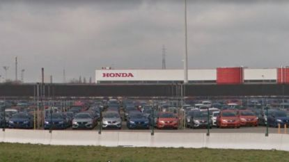 Honda schakelt over op binnenvaart tussen Antwerpen en Gent