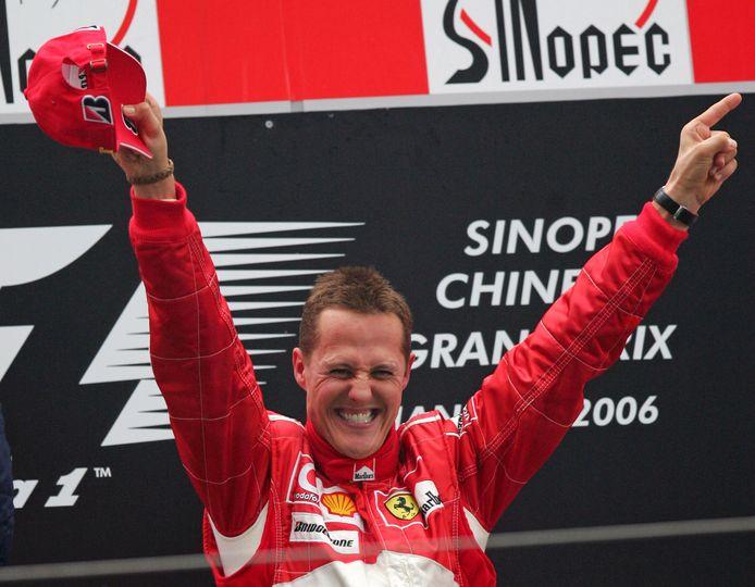 Michael Schumacher werd in zijn carrière zeven keer wereldkampioen.