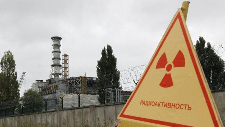 Tsjernobyl, de in 1986 ontplofte nucleaire installatie in Oekraïne. Beeld epa