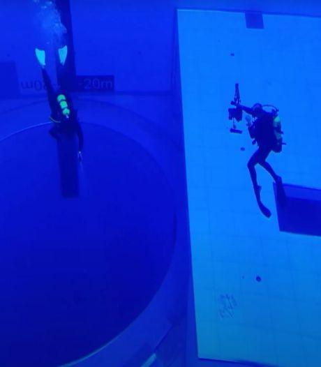 Diepste zwembad ter wereld open voor duikers