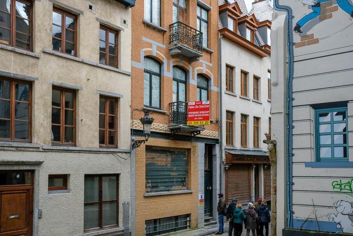 (Beeld ter illustratie) Leegstand in Brussel.