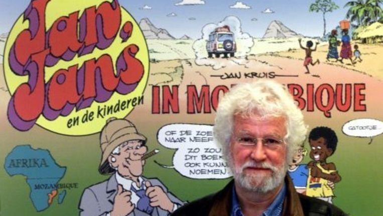 Jan Kruis was een groot bewonderaar van Marten Toonder. Foto ANP Beeld