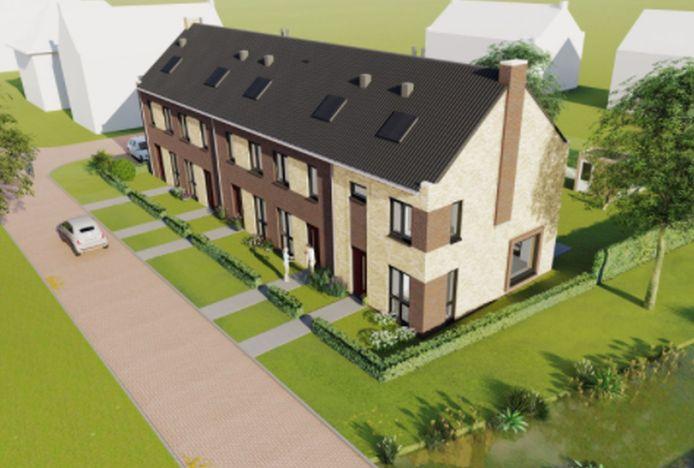 Zo goedkoop als de vijf woningen in Het Opbroek zullen de meeste woningen voor starters in Rijssen-Holten niet worden.
