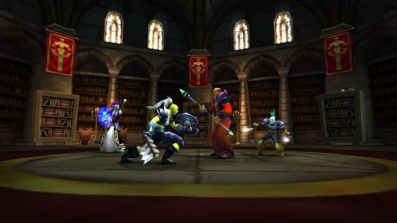 Scène uit 'World of Warcraft Classic'. Beeld Blizzard Entertainment