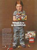 toen lego nog 'unisex' was...