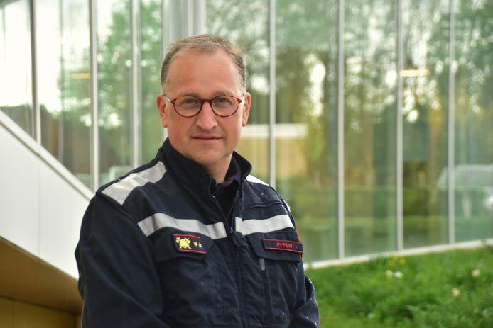 Wim Pype (49) leidt voortaan de Stadense brandweerpost.