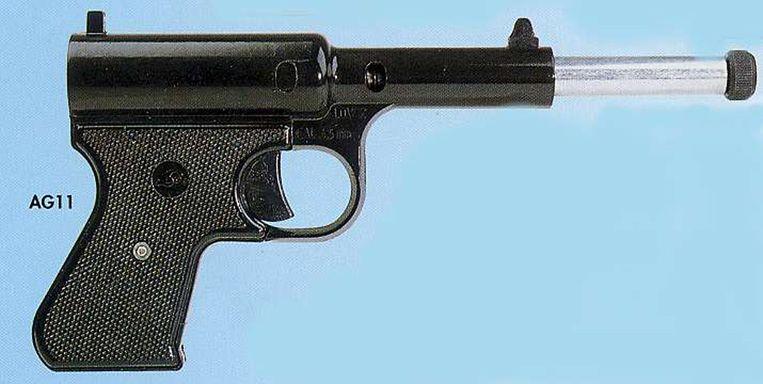 Luchtdrukpistool