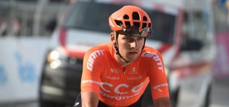 CCC haalt mogelijk besmette Sajnok uit Tirreno