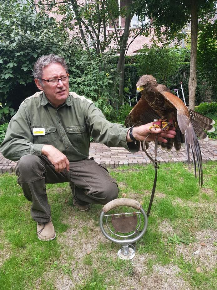 Open Monumentendag in Waalre stond onder meer in het teken van de cultuurhistorische betekenis van roofvogels.