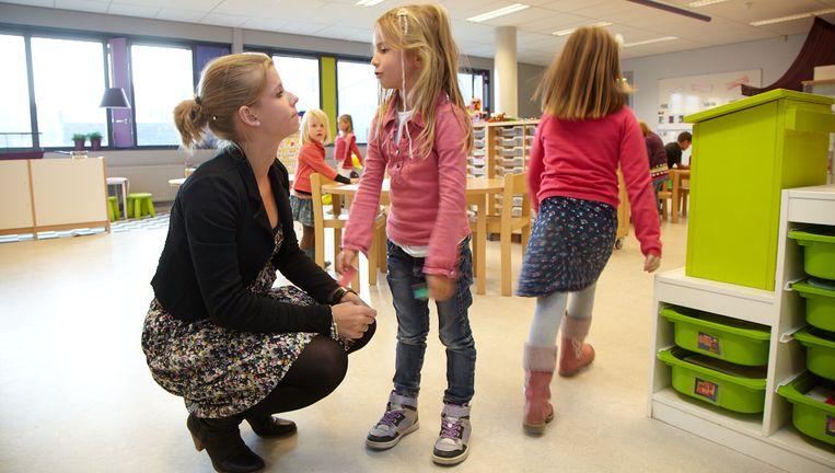 Op Laterna Magica leren kinderen op geheel eigen wijze. Beeld Trouw