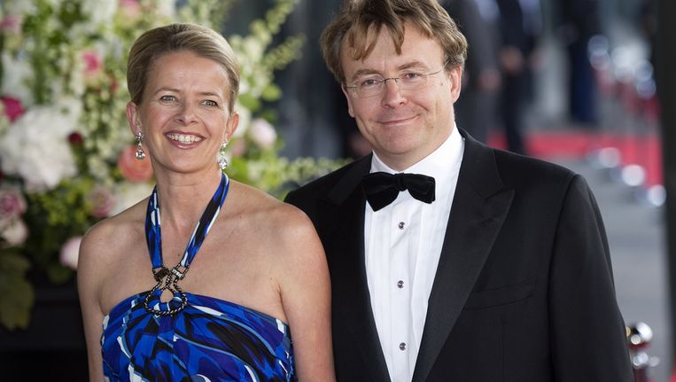 Prinses Mabel en prins Friso arriveren op 26 mei 2011 bij het Concertgebouw in Amsterdam voor de 40ste verjaardag van toen nog prinses Máxima. Beeld anp