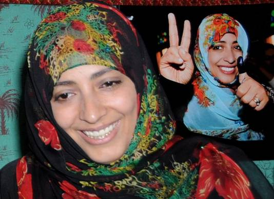 Tawakkol Karman in april 2012.