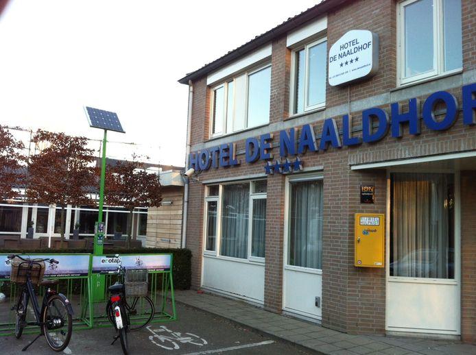 Hotel De Naaldhof in Oss.