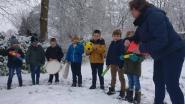 De les was nog nooit zo plezant: meetkunde in de sneeuw