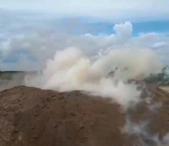 De ontploffing