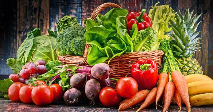Vers fruit en verse groenten: de prijzen kunnen erg verschillen per supermarkt.