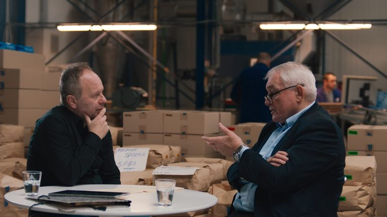 Het EK van de Duivels - Ben Crabbé en Paul Van Himst Beeld VRT