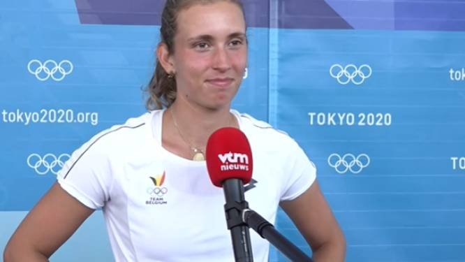 """Medaillekanshebber Elise Mertens er het hart van in na snelle exit in Tokio: """"Ik wou méér doen voor Team Belgium"""""""