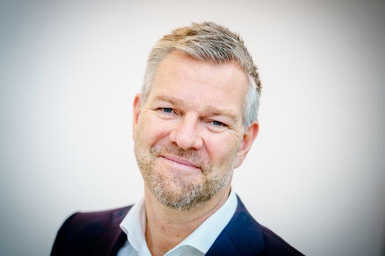 Marc Kaptein, voorzitter van de Nederlandse Vereniging voor Farmaceutische Geneeskunde (NVFG) en medisch directeur van Pfizer Nederland.   Beeld Marco De Swart/HH