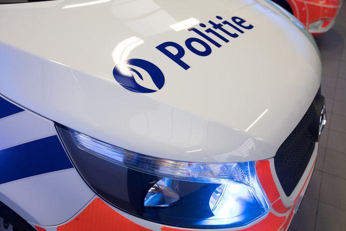 De politie Het Houtsche deed de vaststellingen bij het ongeval.