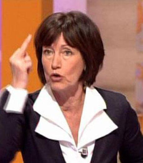 Le doigt d'honneur de Laurette Onkelinx (vidéo)