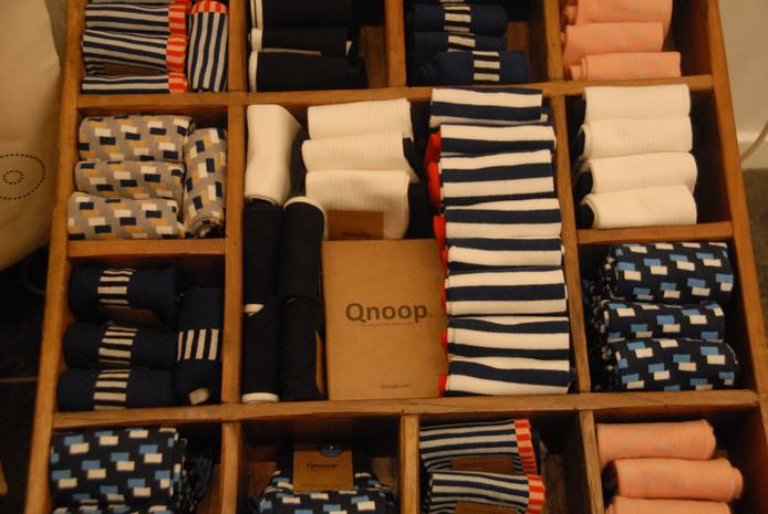 Ook duurzaam geproduceerde sokken behoren tot het assortiment.