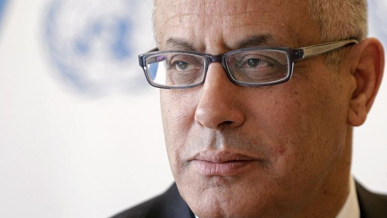 Ali Zeidan. Beeld REUTERS