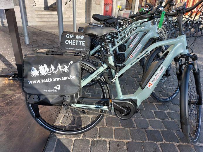 De campagne 'De testkaravaan komt naar jouw gemeente!' is in Poperinge van start gegaan. Tot en met zondag 3 oktober kunnen 70 Poperingenaar de voordelen van dagelijkse verplaatsingen met de elektrische fiets of speedpedelec ontdekken.