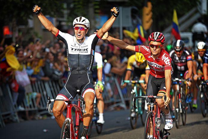 Danny van Poppel wint in 2015 de twaalfde etappe in de Vuelta. Volgend jaar hoopt hij dit kunstje te herhalen op eigen Brabantse bodem.